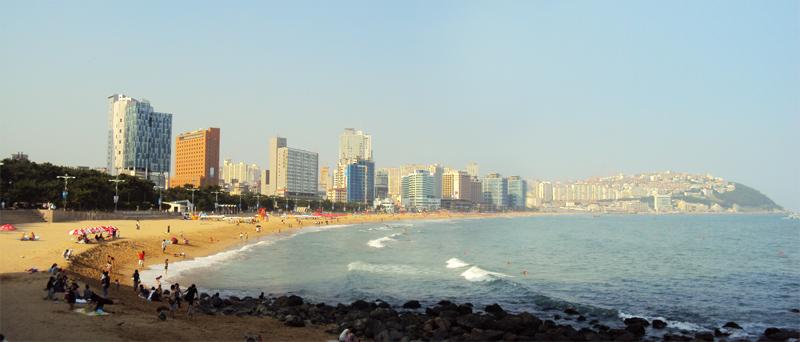 Pláž Heunde, Busan, Južná Kórea