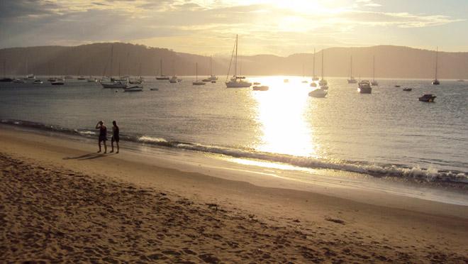 Západ slnka v Austrálií