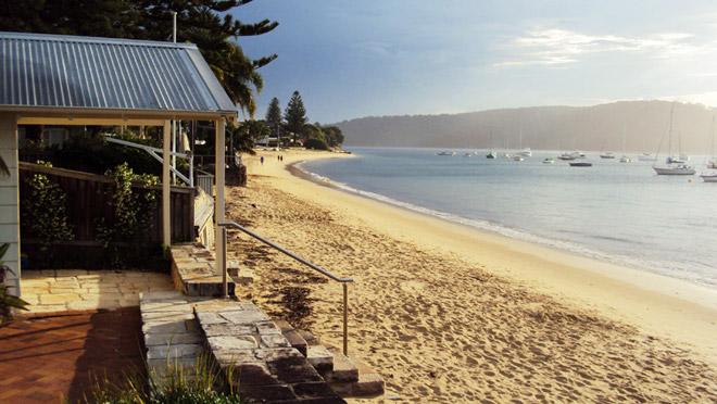 Poblíž Palm beach, Austrália