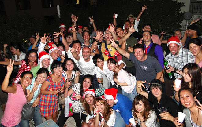 Šialená multikultúrna, nedzinárodná párty v Sydney