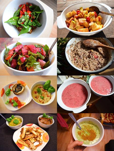 Pestrá veganská a surová strava