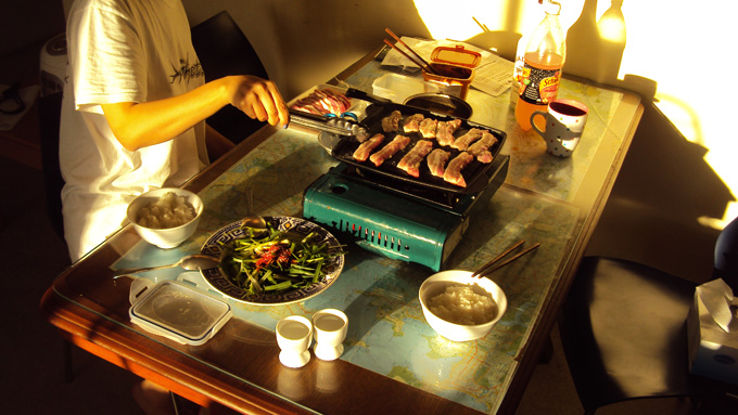 Domáce kórejské barbeque