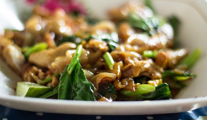 Jedno z mojich najobľúbenejších Thajských jedál - Pad See You