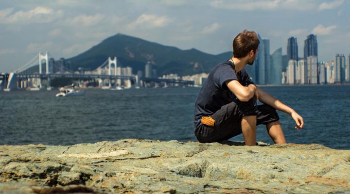 Lubo Jurík v Busane v Južnej Kórei
