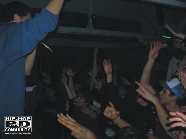 Jeden z našich prvých koncertov v Prievidzi
