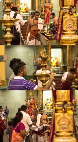 Hinduistický kláštor v Kuala Lumpur v Malajzii