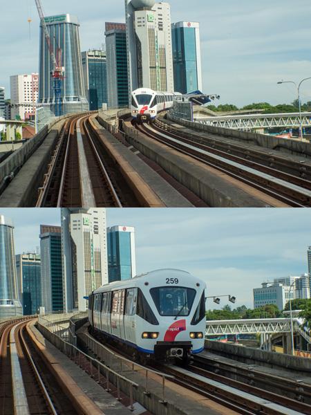Metro v Kuala Lumpur nemá šoféra
