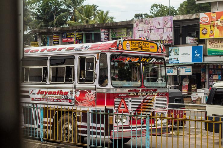 Srílanský autobus