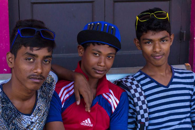 Srílanskí chlapci