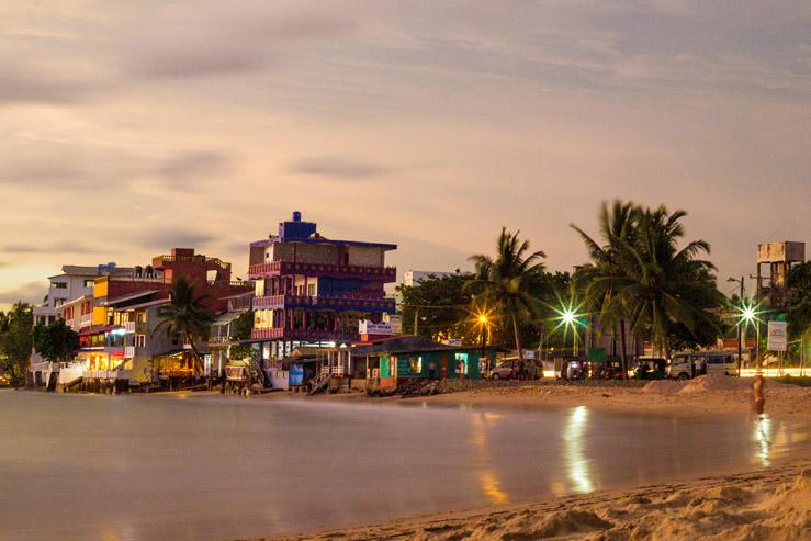 Západ slnka na Srí Lanke