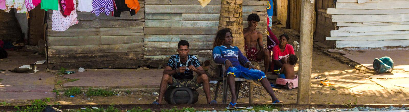 Domorodci na Srí Lanke