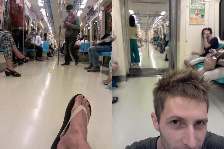 Na zemi vo vlaku
