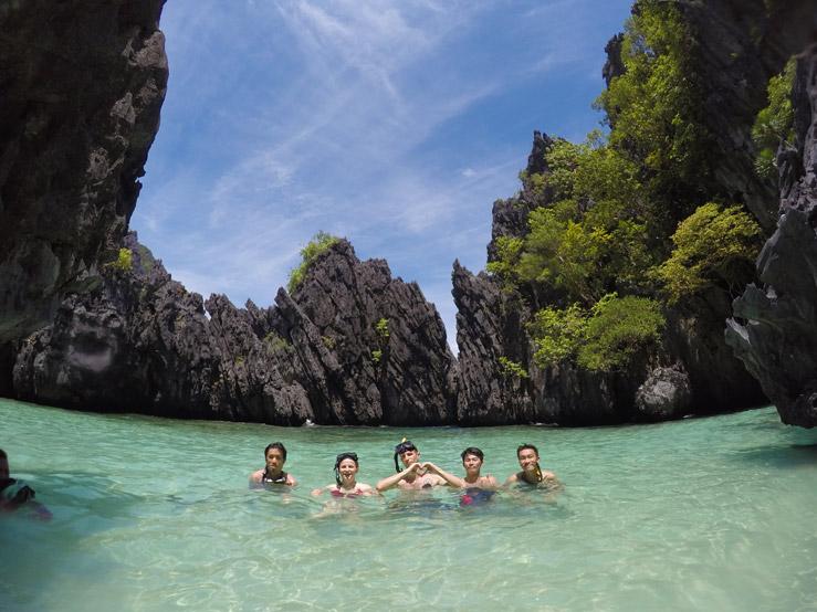 Jedno z najkrajších miest, na akých som kedy bol - El Nido, Palawan, Filipíny