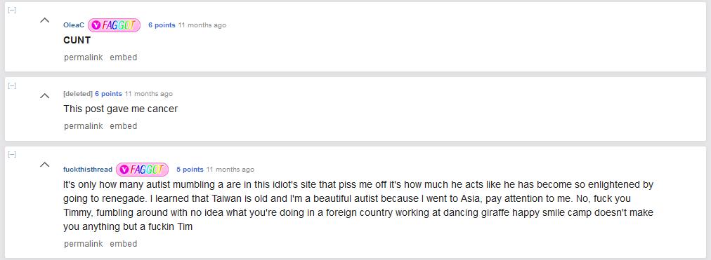 Aj teraz, o rok neskôr, mi zviera žalúdok, keď si čítam tie komentáre. Prečo by bol niekto taký zlomyseľný?