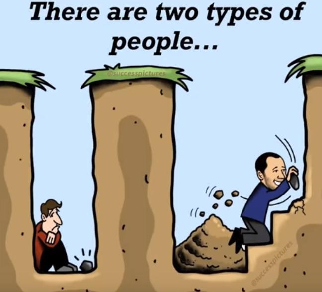V čase krízy sú iba dva typy ľudí