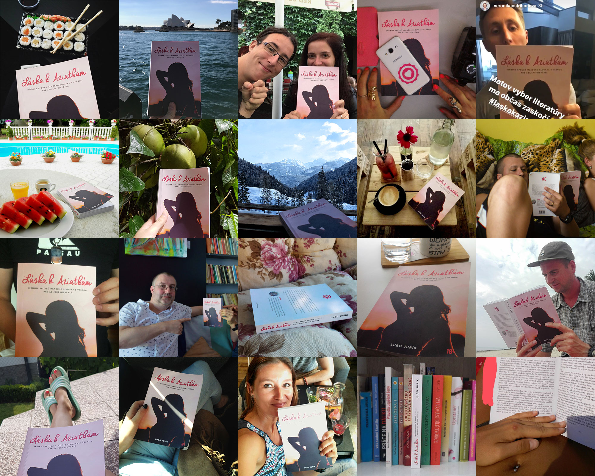 Čitatelia knihy Láska k Aziatkám